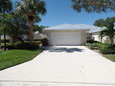 Palm City Single Family Home For Sale: 1661 SW Waterfall Boulevard