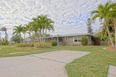 Stuart Single Family Home For Sale: 2465 NW Everglades Boulevard
