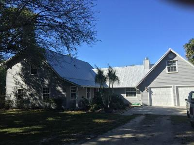 Palm City Single Family Home For Sale: 10700 SW Green Ridge Lane