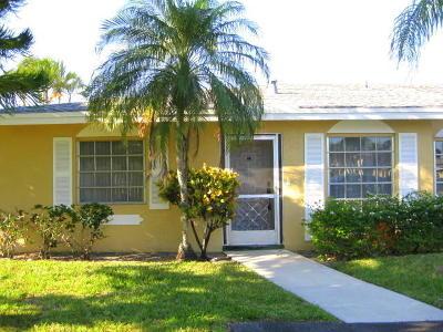 Delray Beach Single Family Home For Sale: 13644 Via Flora #''a''