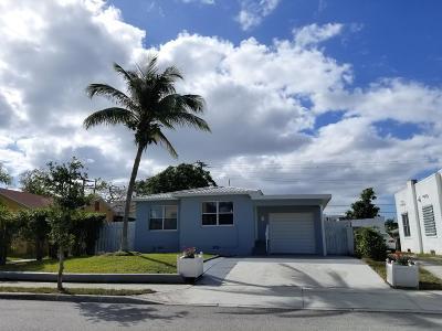 West Palm Beach Single Family Home For Sale: 416 Monroe Drive