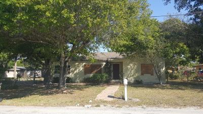 Fort Pierce Single Family Home For Sale: 1912 Easter Avenue