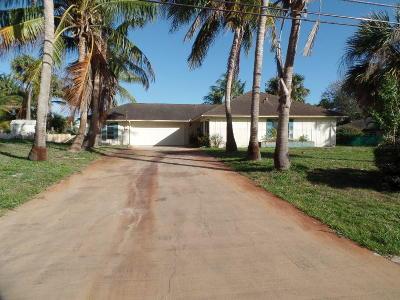 Stuart Single Family Home For Sale: 3843 SE Jefferson Street