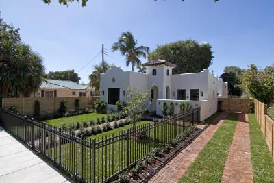 West Palm Beach Single Family Home Contingent: 2911 Poinsettia Avenue