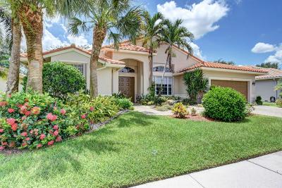 Boynton Beach Single Family Home For Sale: 6764 Chimere Terrace