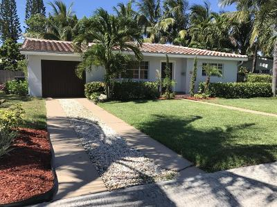 West Palm Beach Single Family Home For Sale: 157 Gregory Place