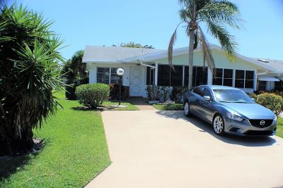 West Palm Beach Single Family Home For Sale: 3436 Christopher Street