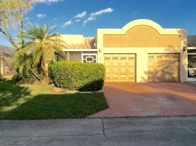 Boca Raton Single Family Home For Sale: 18800 Jolson Avenue #8