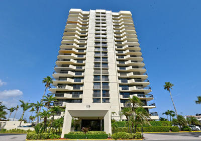 North Palm Beach Condo For Sale: 108 Lakeshore Drive #238