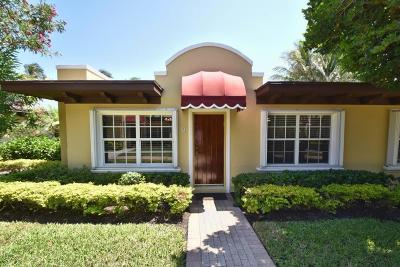 Delray Beach Single Family Home For Sale: 1855 S Ocean Boulevard #9