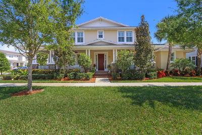 Jupiter Single Family Home For Sale: 2715 Wymberly Drive