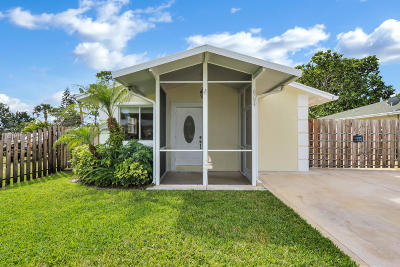 Jupiter Single Family Home Contingent: 6794 4th Street
