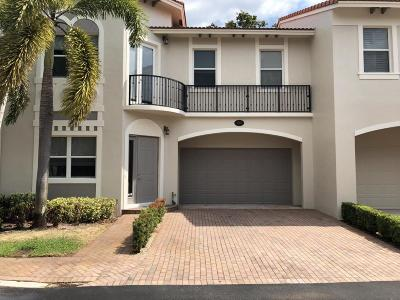 Delray Beach Townhouse For Sale: 1825 Highland Grove Drive