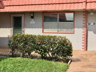 Delray Beach Single Family Home For Sale: 32 Seville B