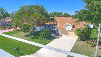 Boca Raton Single Family Home For Sale: 11826 Island Lakes Lane