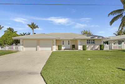 Tequesta Single Family Home For Sale: 19 Starboard Way