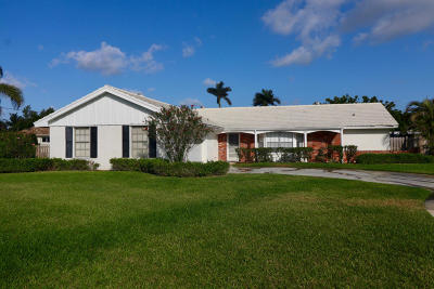 North Palm Beach Single Family Home For Sale: 1859 Ardley Circle