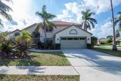 Boynton Beach Single Family Home For Sale: 8825 Spring Valley Drive