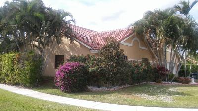 Boynton Beach Single Family Home For Sale: 9381 Laurel Green Drive