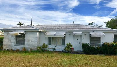 West Palm Beach Single Family Home For Sale: 334 Glenn Road