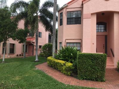 Delray Beach Single Family Home For Sale: 7840 Lexington Club Boulevard #A