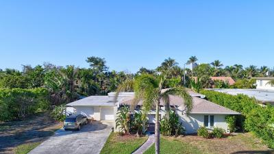 Palm Beach Shores Single Family Home Contingent: 315 Inlet Way