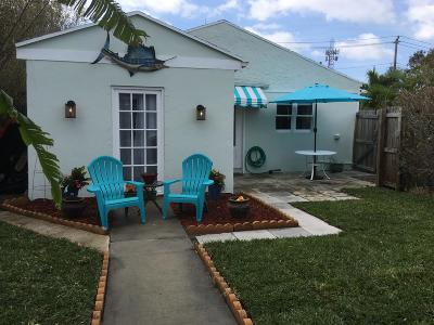 West Palm Beach Single Family Home For Sale: 428 Winters Street #1