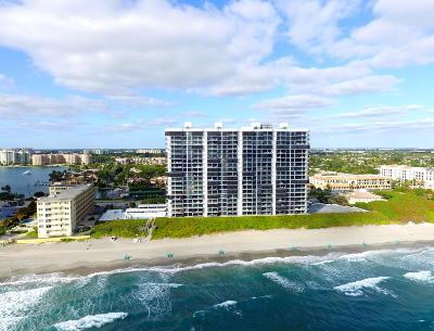 Boca Raton Condo For Sale: 250 S Ocean Boulevard #9c