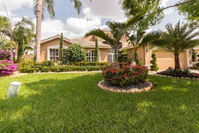 Boynton Beach Single Family Home Contingent: 11294 Barca Boulevard