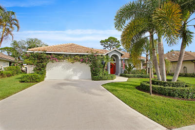 Palm Beach Gardens Single Family Home For Sale: 2550 Monaco Terrace