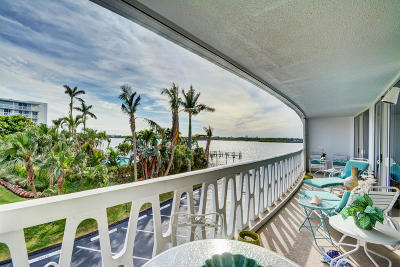 Palm Beach Condo For Sale: 2505 S Ocean Boulevard #314