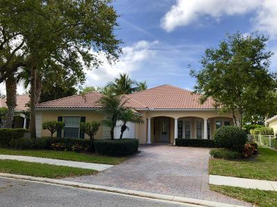 Palm Beach Gardens Single Family Home Contingent: 1102 Orinoco Way