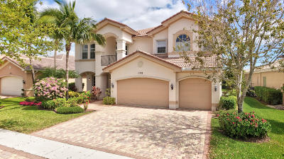 Boynton Beach Single Family Home For Sale: 11168 Brandywine Lake Way