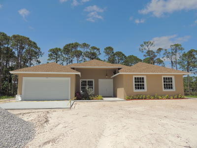 Loxahatchee Single Family Home For Sale: 17351 75th Place