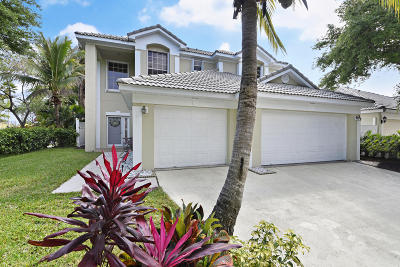 Delray Beach Single Family Home For Sale: 980 Delray Lakes Drive