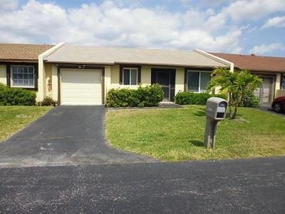 Delray Beach Single Family Home For Sale: 5298 Copper Leaf Circle