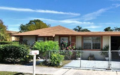 Fort Pierce Single Family Home For Sale: 716 23rd N Street