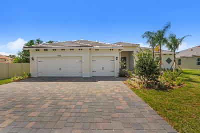 Stuart Single Family Home For Sale: 7386 SW Kantner Drive