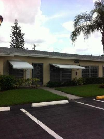 Delray Beach Single Family Home For Sale: 13907 Via Aurora #B