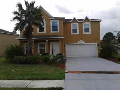 Port Saint Lucie Rental For Rent: 5366 NW Wisk Fern Circle