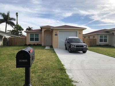 Palm Acres Estates Single Family Home For Sale: 2952 Ohio Street