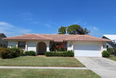 Boca Raton Single Family Home For Sale: 23349 Lago Mar Circle