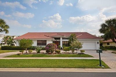 Boca Raton Single Family Home For Sale: 11199 Boca Woods Lane