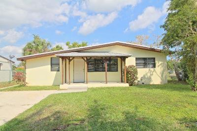 Delray Beach Single Family Home For Sale: 607 SW 9th Street