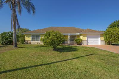 Port Saint Lucie Single Family Home For Sale: 3101 SW Watson Court