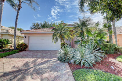 Boynton Beach Single Family Home Contingent: 12080 Aprilia Drive