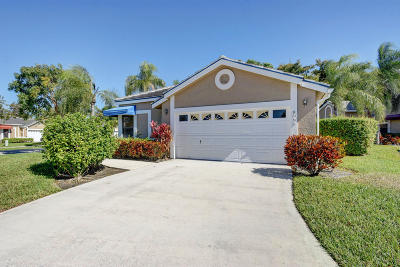 Lake Worth, Lakeworth Single Family Home For Sale: 8095 Burlington Court