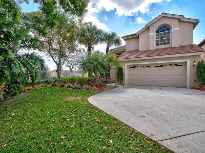 Jupiter Single Family Home For Sale: 136 Pine Hammock Court