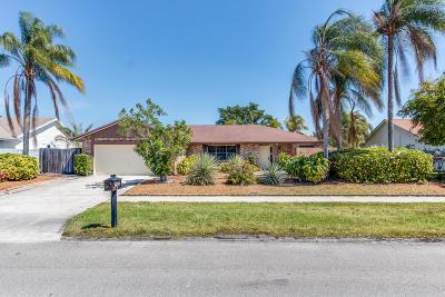 Boca Raton Single Family Home For Sale: 4240 Sugar Pine Drive
