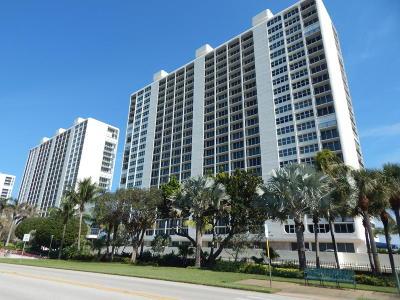 Boca Raton  Condo For Sale: 2800 S Ocean Boulevard #19g